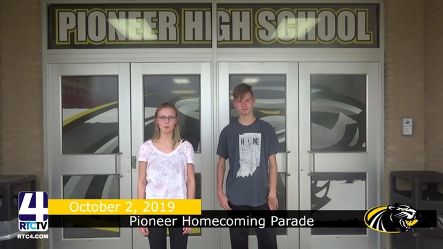 Pioneer Homecoming Parade - 10-2-19