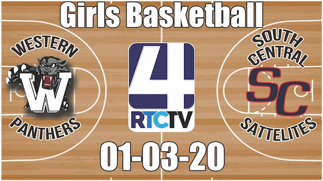 Western Girls Basketball vs South Central (Rochester Glass Classic) 1-3-20