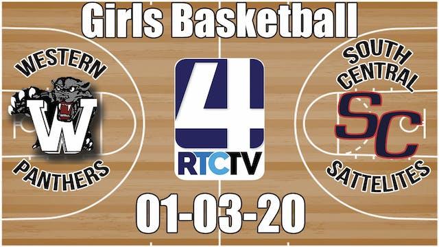 Western Girls Basketball vs South Cen...