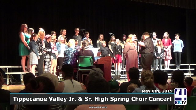 Tippecanoe Valley Jr.Sr High Spring Choir Concert 5-6-19