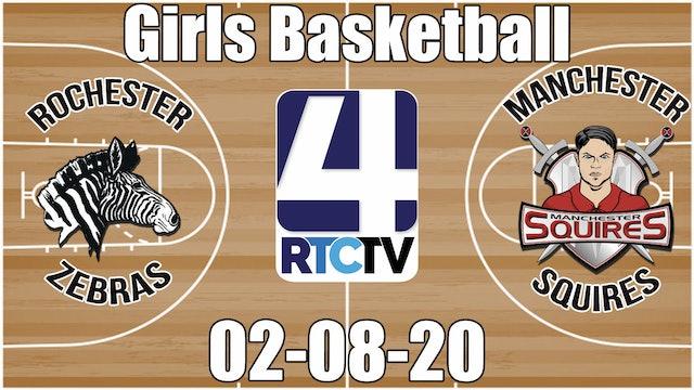IHSAA Girls Basketball Sectional #37 Championship Rochester vs Manchester 2-8-20