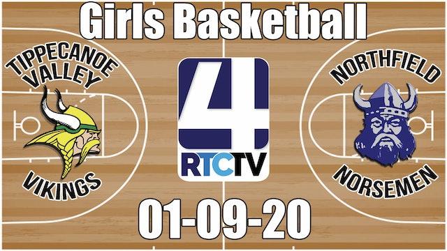 Tippecanoe Valley Girls Basketball vs Northfield 1-9-20