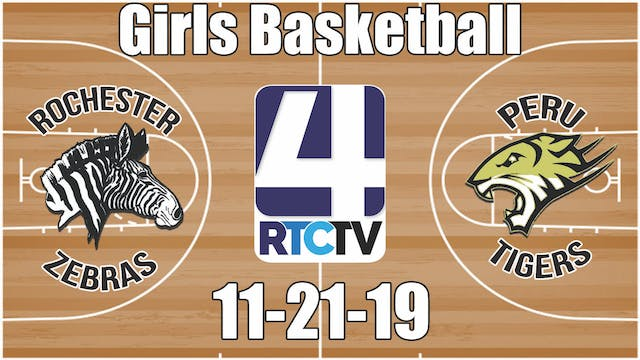 Rochester Girls Basketball at Peru 11...