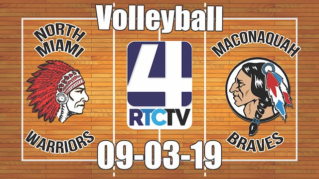 North Miami Volleyball vs Maconaquah ...