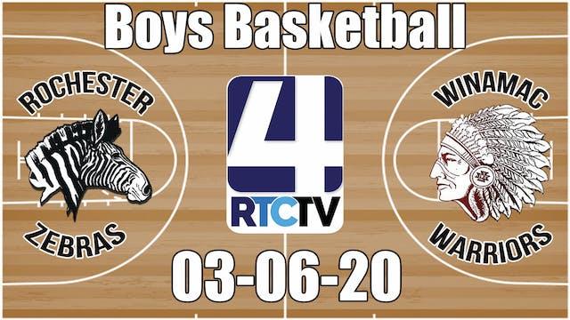 IHSAA Boys Basketball Sectional #37 R...