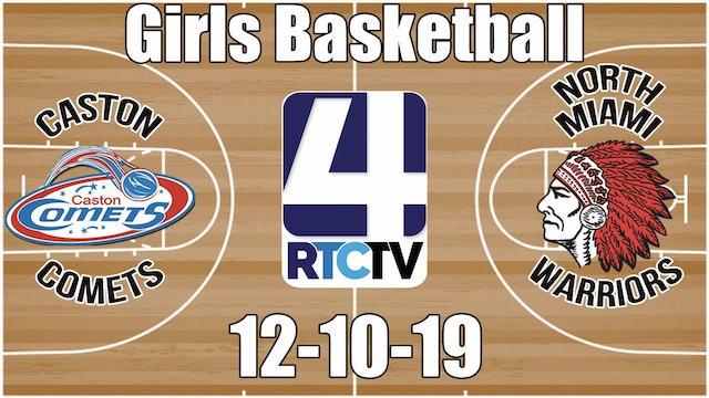 Caston Girls Basketball vs North Miami 12-10-19