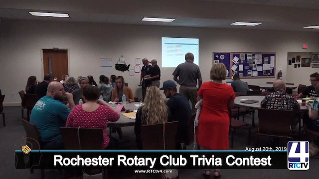 Rochester Rotary Club 10th Annual Trivia Contest - 8-20-19