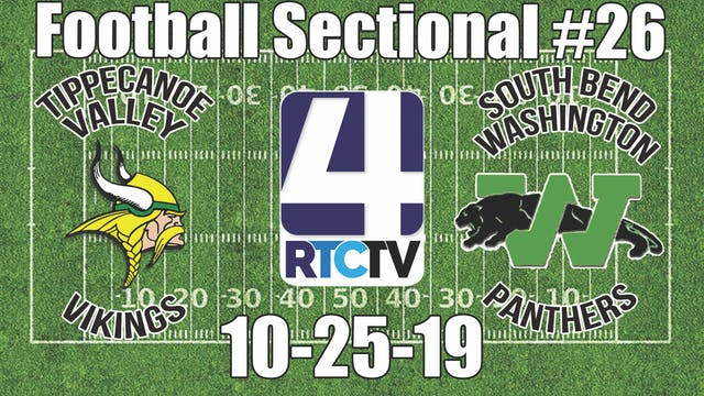 IHSAA Football Sectional #26 Tippecan...