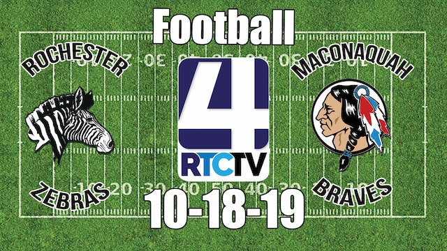 Rochester Football vs Maconaquah 10-18-19