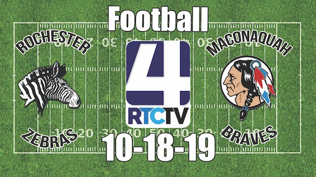 Rochester Football vs Maconaquah 10-1...