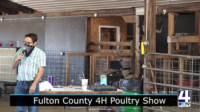 CE - Fulton County 4H - Poultry Show - 7-13-20