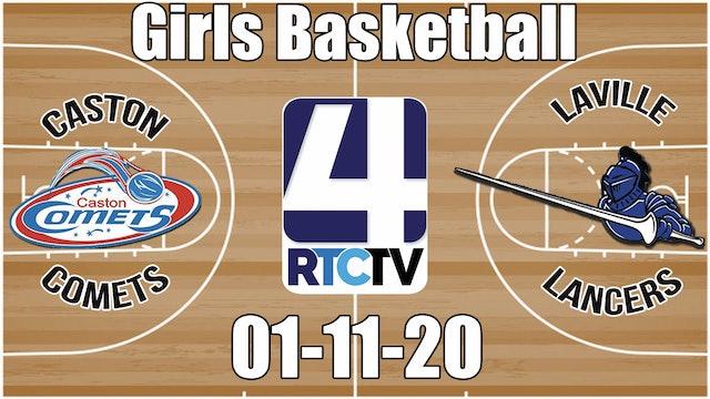 Caston Girls Basketball vs LaVille 1-11-20