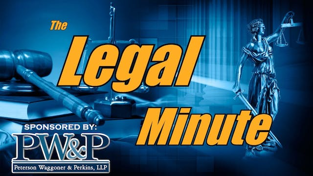 The Legal Minute - Small Claims