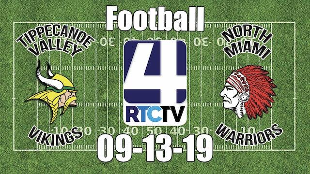 Tippecanoe Valley Football vs North Miami - 9-13-19
