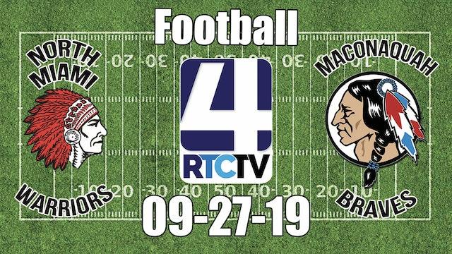 North Miami Football vs Maconaquah 9-27-19