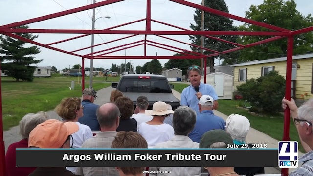Marshall County History Tour - William Foker Tribute 9-12-18