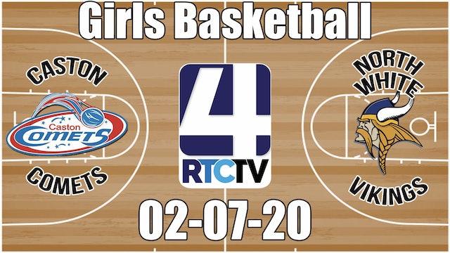 IHSAA Girls Basketball Sectional #52 Caston(V) vs North White(H) 2-7-20