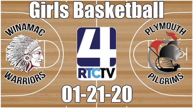 Winamac Girls Basketball vs Plymouth 1-21-20