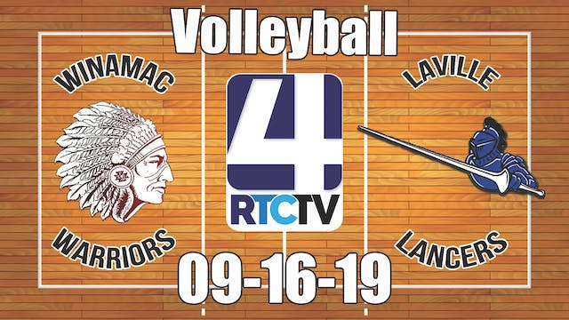 Winamac Volleyball vs LaVille - 9-16-19
