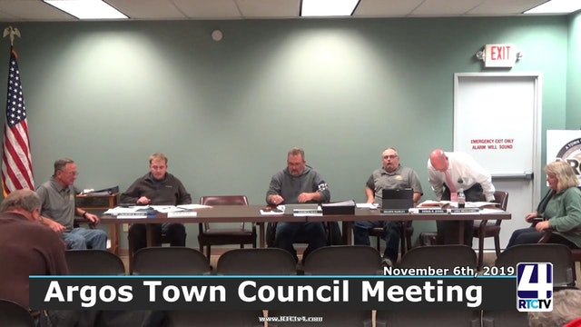Argos Town Council Meeting - 11-6-19