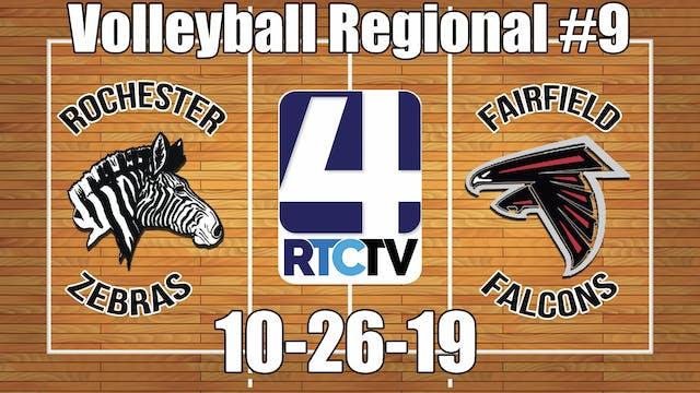 IHSAA Volleyball Regional #9 Rocheste...