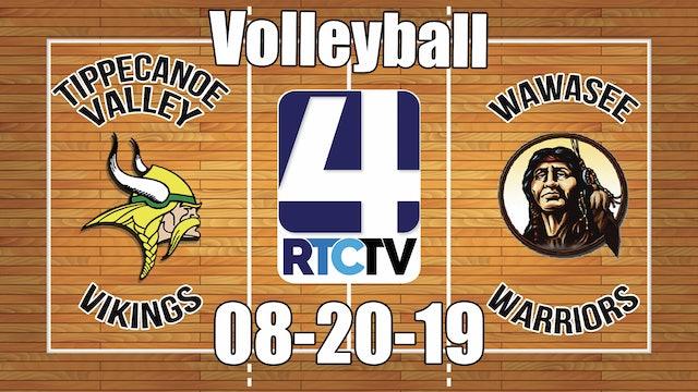 Tippecanoe Valley Volleyball vs Wawasee 8-20-19