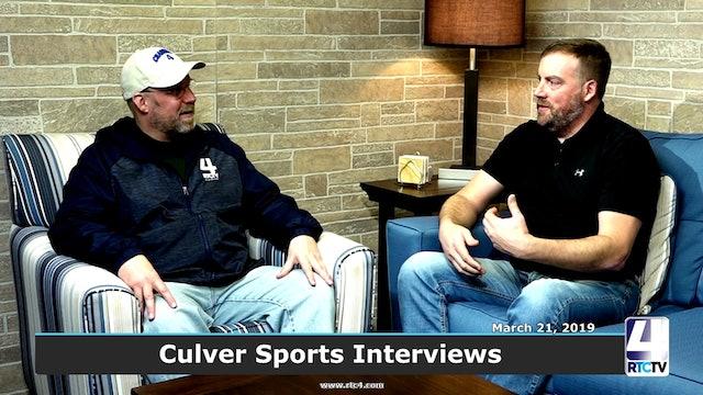 RTCtv4 Sports Interviews - Culver Coaches - 3-21-19