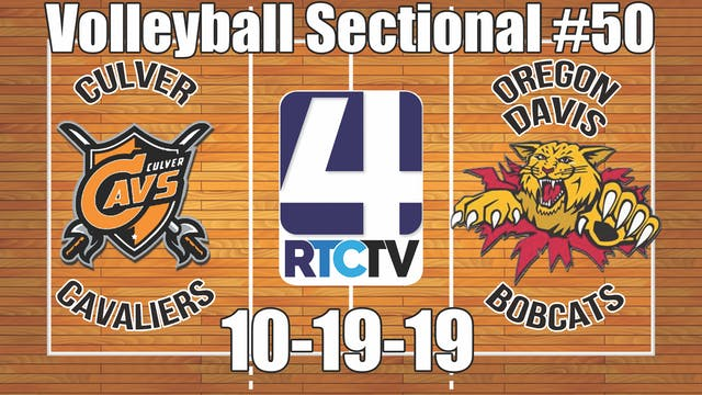IHSAA Volleyball Sectional #50 Culver...