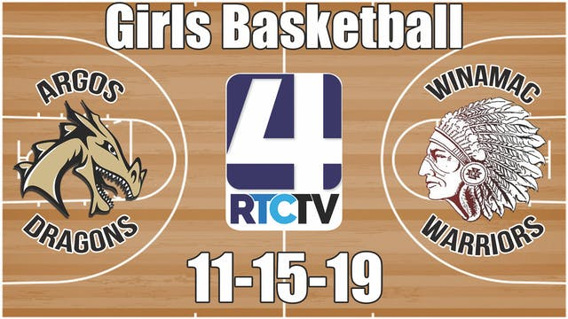 Argos Girls Basketball vs Winamac 11-...