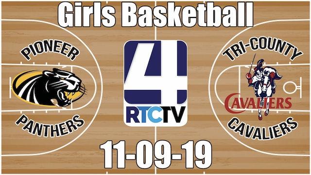Pioneer Girls Basketball vs Tri-County 11-9-19