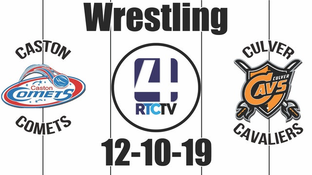 Caston Wrestling vs Culver 12-10-19