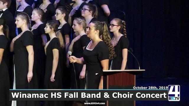 SP - Winamac High School Fall Band and Choir Concert - 10-28-19