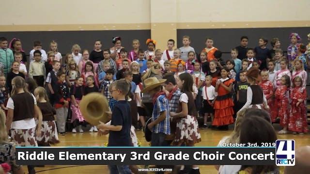Riddle 3rd Grade Choir Concert - 10-3-19