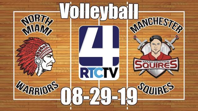 North Miami Volleyball vs Manchester