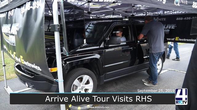 Arrive Alive Tour visits RHS - 9-25-19