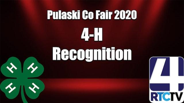 Pulaski Co 4H Recognition Program 7-5-20