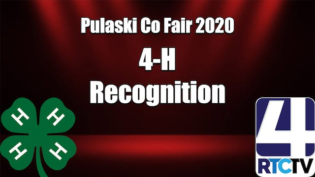 Pulaski Co 4H Recognition Program 7-5-20