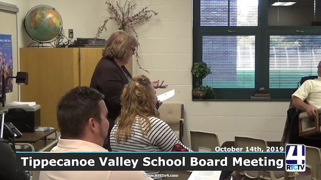 Tippecanoe Valley School Board Meeting - 10-14-19