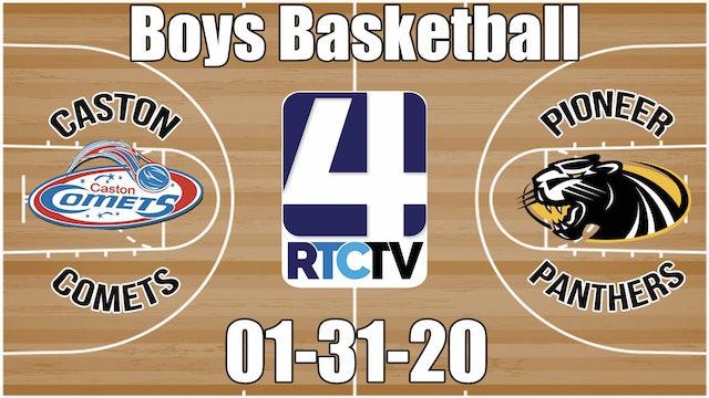 Caston Boys Basketball vs Pioneer 1-31-20