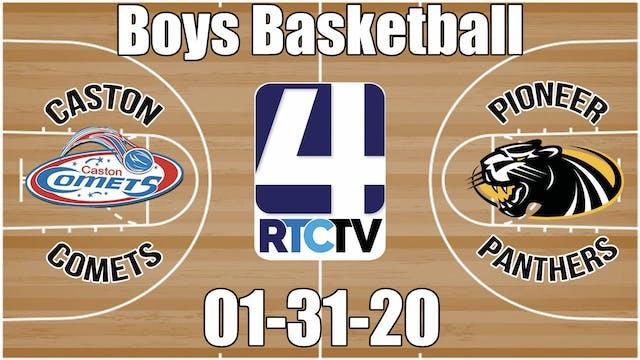 Caston Boys Basketball vs Pioneer 1-3...