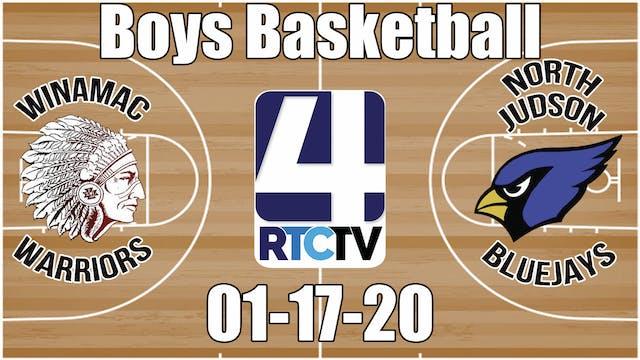 Winamac Boys Basketball vs North Juds...
