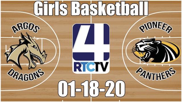 Argos Girls Basketball vs Pioneer 1-18-20