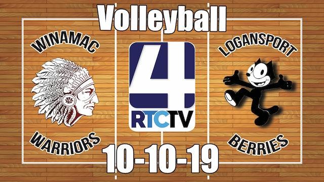 Winamac Volleyball vs Logansport 10-10-19