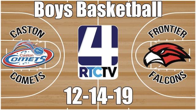 Caston Boys Basketball vs Frontier 12-14-19