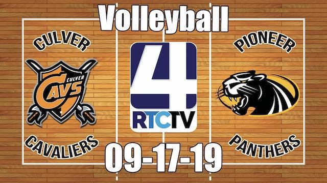 Culver Volleyball vs Pioneer - 9-17-19
