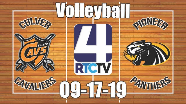 Culver Volleyball vs Pioneer - 9-17-19