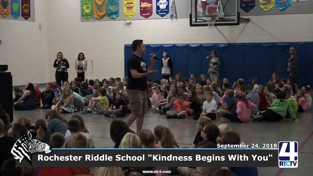 Rochester Riddle Elementary - School Kindness Begins With You - 09-24-18