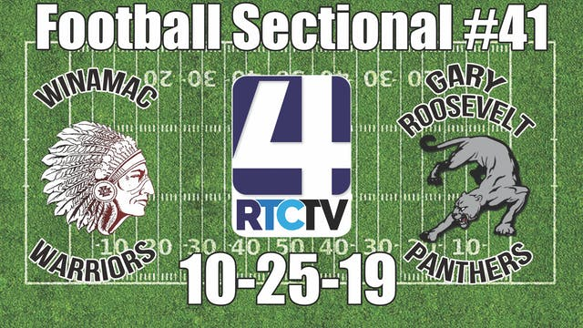 IHSAA Football Sectional #41 Winamac ...