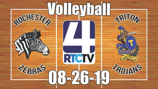 Rochester Volleyball vs Triton