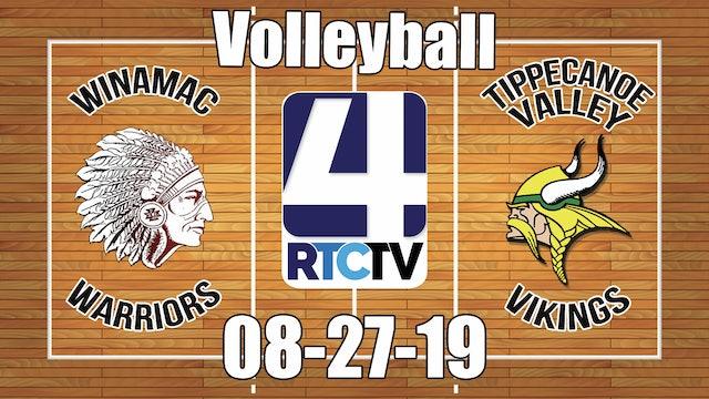 Winamac Volleyball vs Tippecanoe Valley - 8-27-19